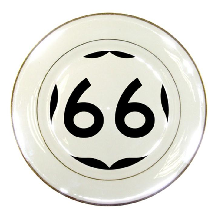 U.S. Route 66 Porcelain Plates