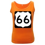 U.S. Route 66 Women s Dark Tank Top Front