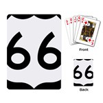 U.S. Route 66 Playing Card Back