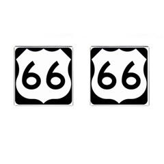 U.S. Route 66 Cufflinks (Square)