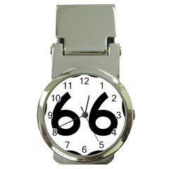 U S  Route 66 Money Clip Watches