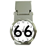 U.S. Route 66 Money Clip Watches Front