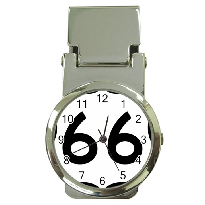 U.S. Route 66 Money Clip Watches