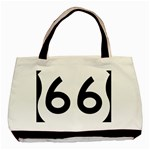 U.S. Route 66 Basic Tote Bag Front
