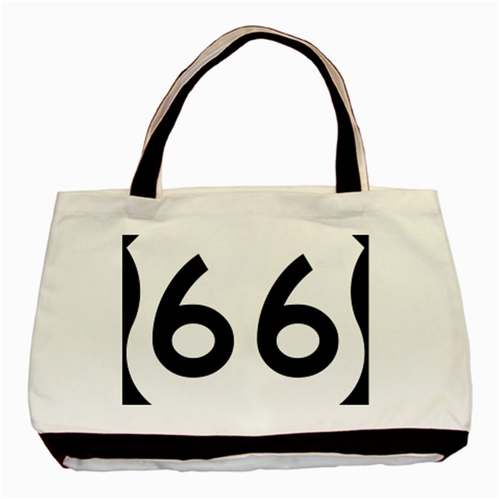 U.S. Route 66 Basic Tote Bag
