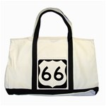 U.S. Route 66 Two Tone Tote Bag Front