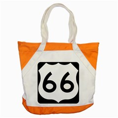 U.S. Route 66 Accent Tote Bag