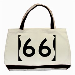U.S. Route 66 Basic Tote Bag (Two Sides)