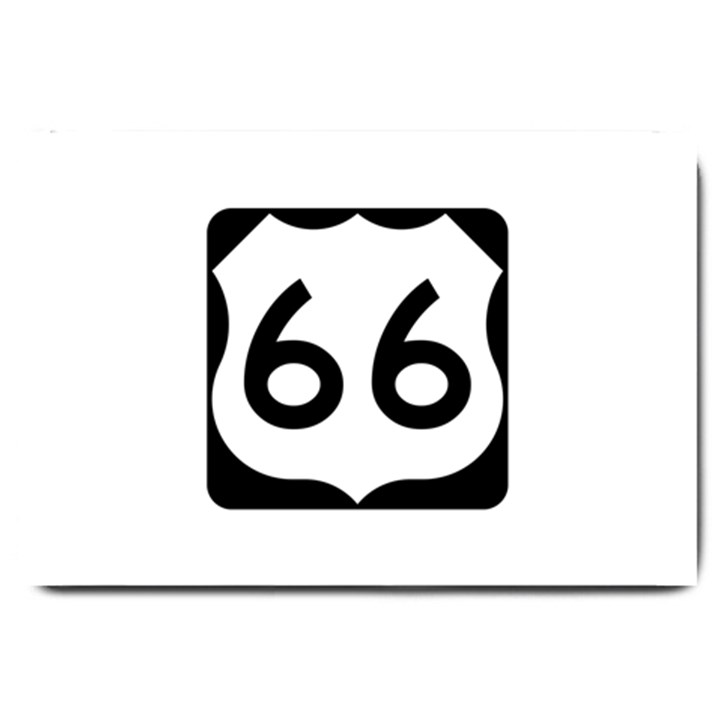 U.S. Route 66 Large Doormat