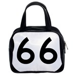U.S. Route 66 Classic Handbags (2 Sides) Front