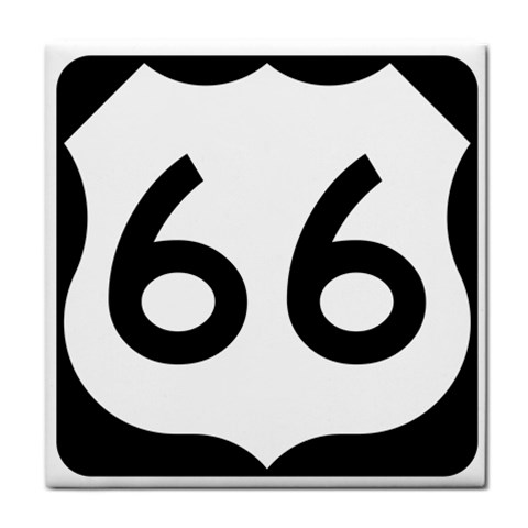 U.S. Route 66 Face Towel