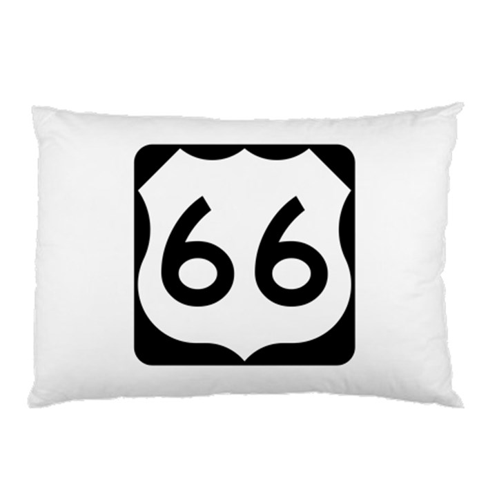 U.S. Route 66 Pillow Case