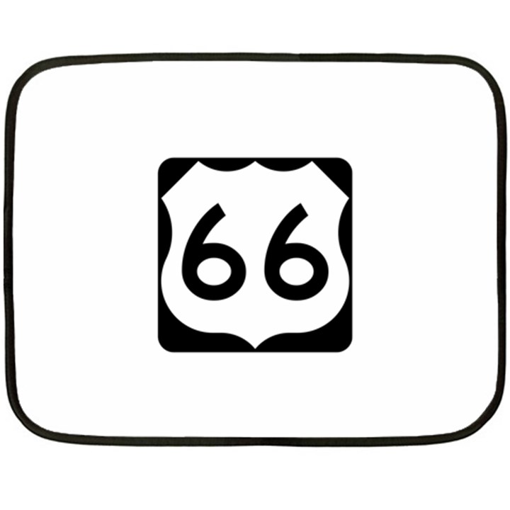 U.S. Route 66 Fleece Blanket (Mini)