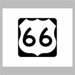 U.S. Route 66 Canvas 24  x 20  24  x 20  x 0.875  Stretched Canvas