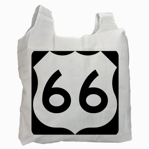 U.S. Route 66 Recycle Bag (One Side)