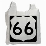 U.S. Route 66 Recycle Bag (One Side) Front