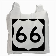 U S  Route 66 Recycle Bag (two Side)
