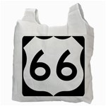U.S. Route 66 Recycle Bag (Two Side)  Back