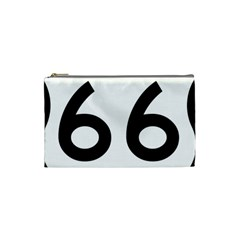 U.S. Route 66 Cosmetic Bag (Small)