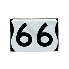 U S  Route 66 Cosmetic Bag (medium)