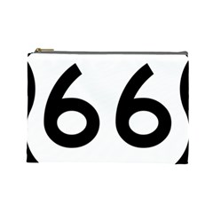U.S. Route 66 Cosmetic Bag (Large)