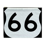 U.S. Route 66 Cosmetic Bag (XL) Front