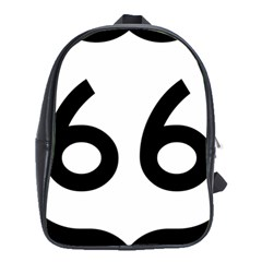 U.S. Route 66 School Bags(Large)