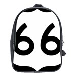 U.S. Route 66 School Bags(Large)  Front
