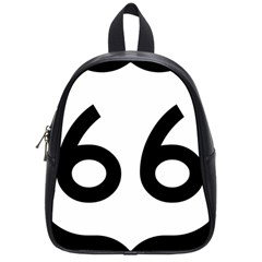 U S  Route 66 School Bags (small)