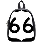 U.S. Route 66 School Bags (Small)  Front