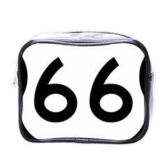 U.S. Route 66 Mini Toiletries Bags