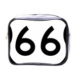 U.S. Route 66 Mini Toiletries Bags Front