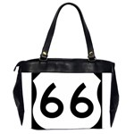 U.S. Route 66 Office Handbags (2 Sides)  Back