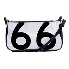 U.S. Route 66 Shoulder Clutch Bags