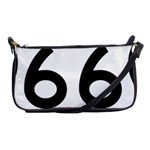 U.S. Route 66 Shoulder Clutch Bags Front