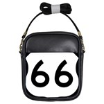 U.S. Route 66 Girls Sling Bags Front
