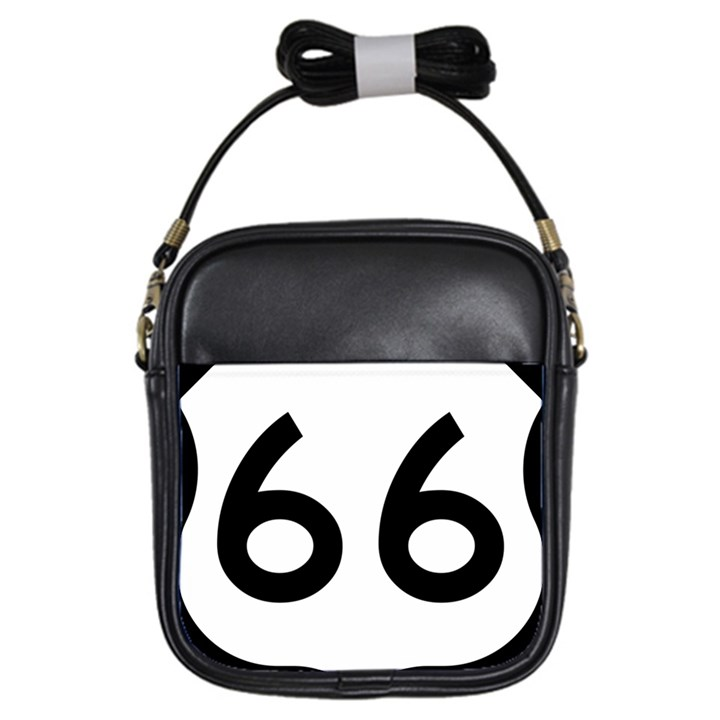 U.S. Route 66 Girls Sling Bags