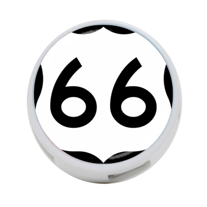 U.S. Route 66 4-Port USB Hub (Two Sides)
