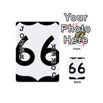U.S. Route 66 Playing Cards 54 (Mini)  Front - Joker1