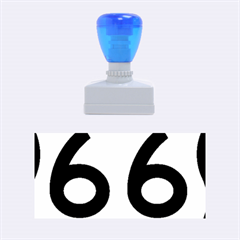 U.S. Route 66 Rubber Stamps (Medium)