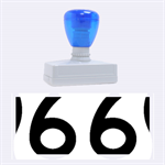 U.S. Route 66 Rubber Stamps (Large) 2.26 x1.05  Stamp