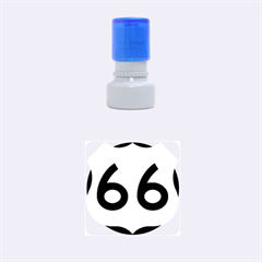 U.S. Route 66 Rubber Round Stamps (Small)