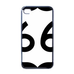 U S  Route 66 Apple Iphone 4 Case (black)