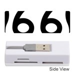 U.S. Route 66 Memory Card Reader (Stick)  Front