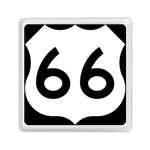 U.S. Route 66 Memory Card Reader (Square)  Front
