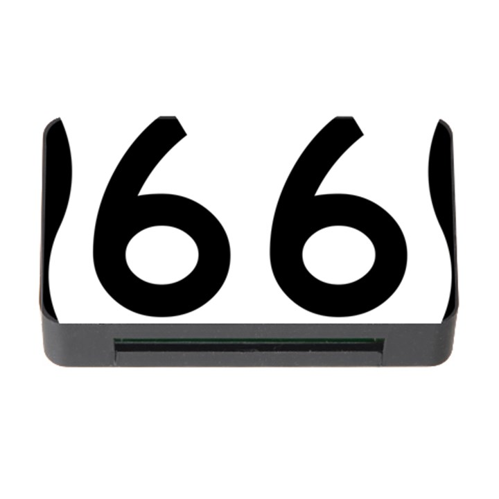 U.S. Route 66 Memory Card Reader with CF