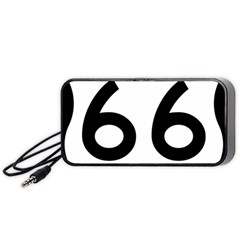 U S  Route 66 Portable Speaker (black)