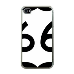 U.S. Route 66 Apple iPhone 4 Case (Clear)