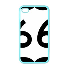 U.S. Route 66 Apple iPhone 4 Case (Color)