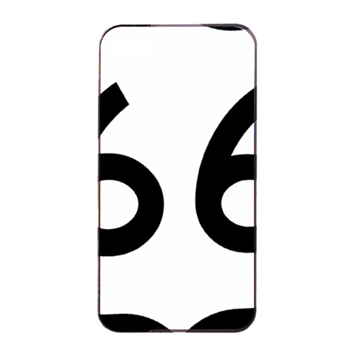 U.S. Route 66 Apple iPhone 4/4s Seamless Case (Black)
